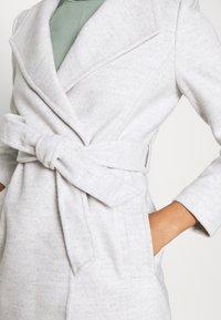 Forever New - VIVIENNE SHORT WRAP - Short coat - grey marle - 5