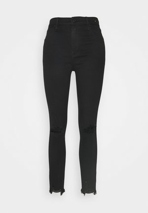 KNEE SLIT ANKLE - Jeans Skinny Fit - black