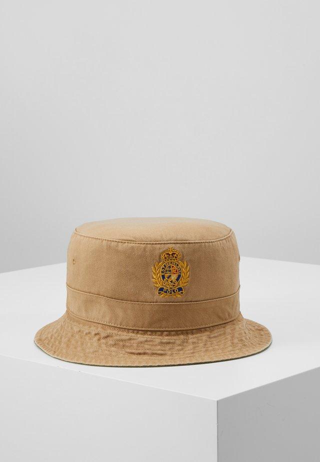 BUCKET CAP - Hut - luxury tan