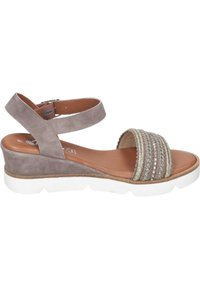Piazza - Wedge sandals - taupe - 5