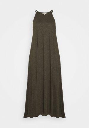 CAMI DRESS - Długa sukienka - dried olive