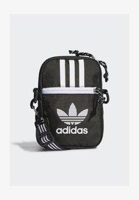 adidas Originals - FESTIVAL UNISEX - Torba na ramię - black/white - 0