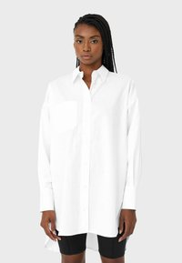 Stradivarius - Button-down blouse - white - 0