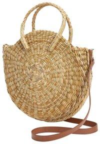 Next - CIRCLE STRAW - Handbag - beige - 2