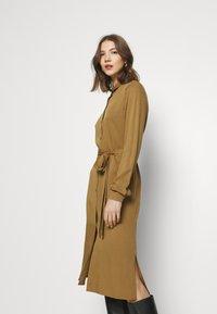 Vila - VIDANIA BELT DRESS - Shirt dress - butternut - 3