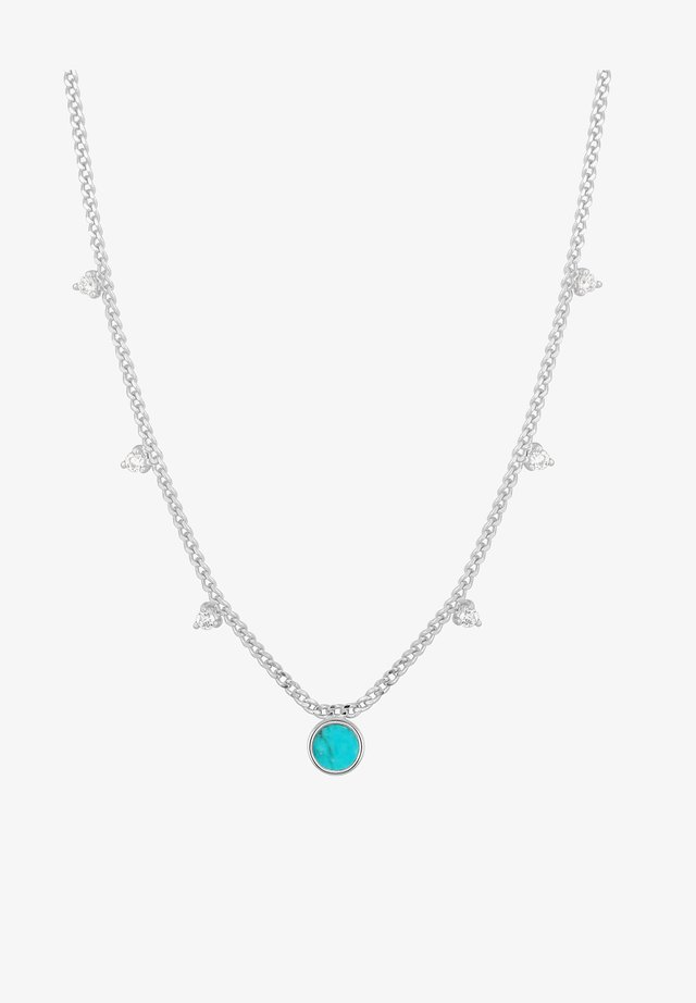 DROIP DISK  - Ketting - silber
