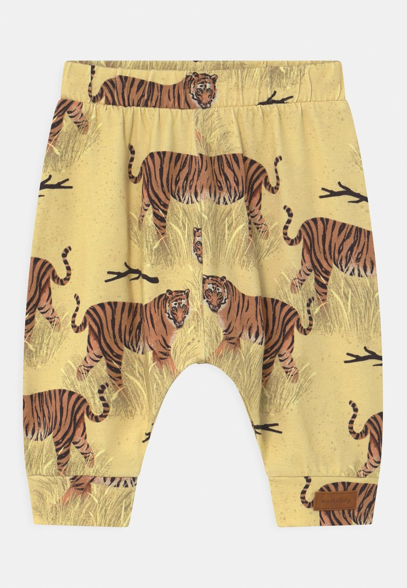 Walkiddy - BAGGY TIGERS UNISEX - Trousers - yellow