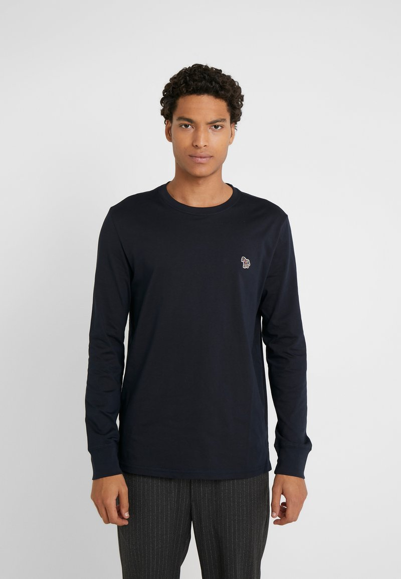 PS Paul Smith - ZEBRA - Long sleeved top - navy