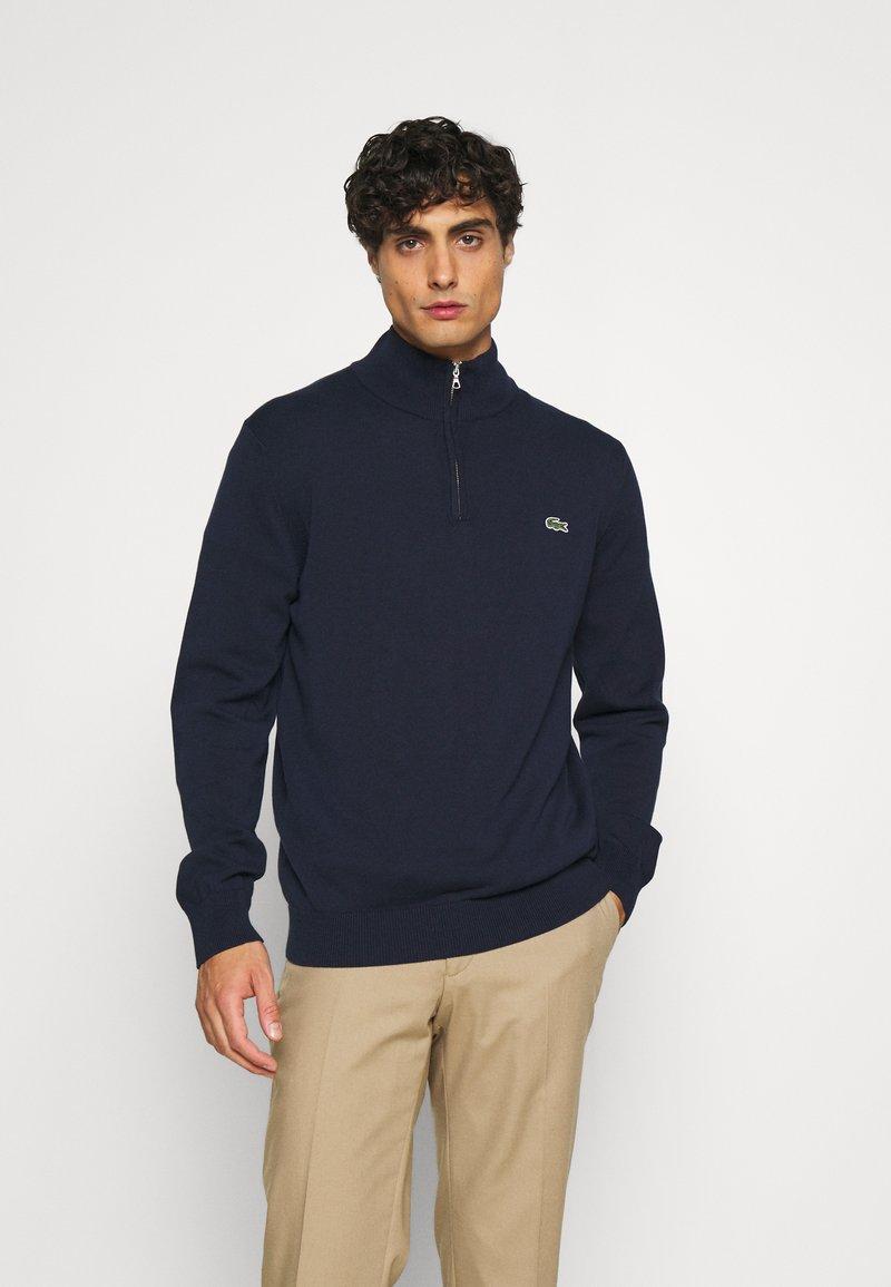 Lacoste - Stickad tröja - navy blue