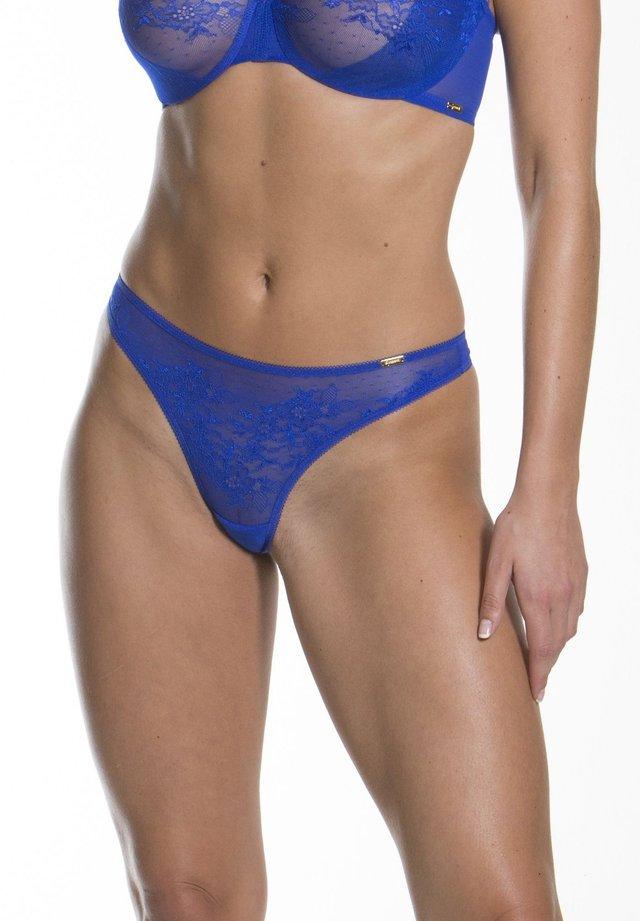 GLOSSIES - Thong - blau