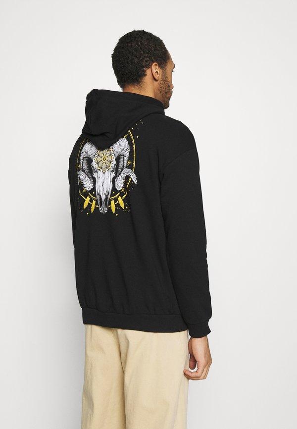 YOURTURN UNISEX - Bluza z kapturem - black/czarny Odzież Męska JYYH