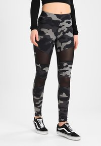 Urban Classics - TECH - Leggings - Trousers - grey - 0