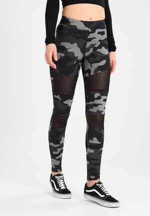 TECH - Leggings - Trousers - grey
