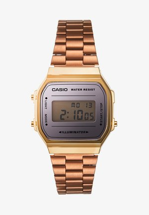 COLLECTION RETRO - Digital watch - rosegold-coloured