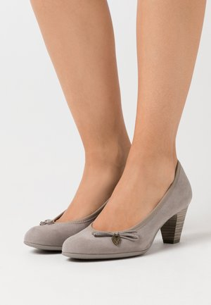 COURT SHOE - Escarpins - grey
