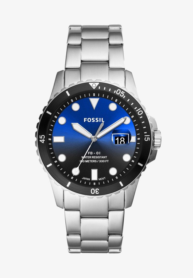 Fossil - FB - 01 - Chronograph watch - silver