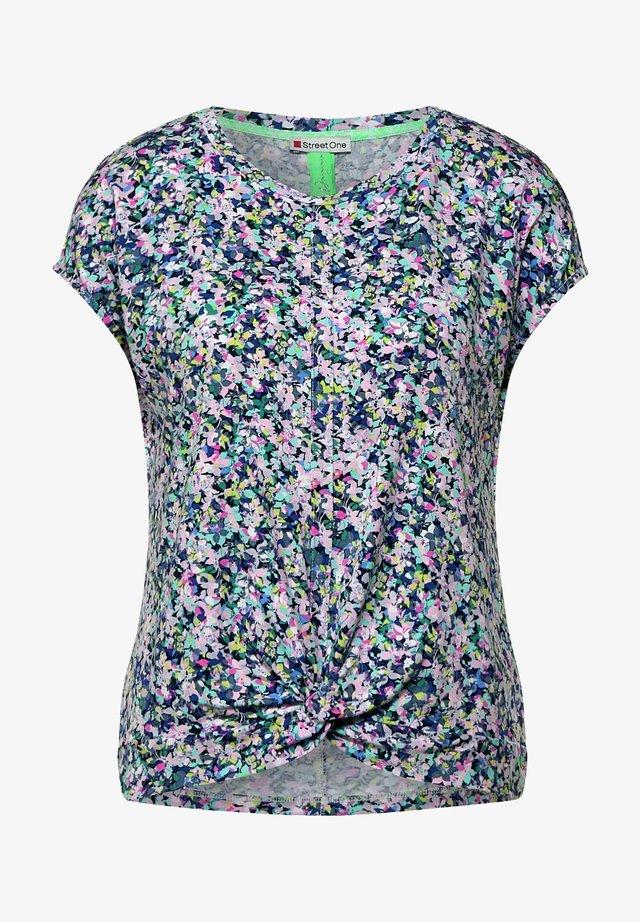 T-shirt print - pearl rose