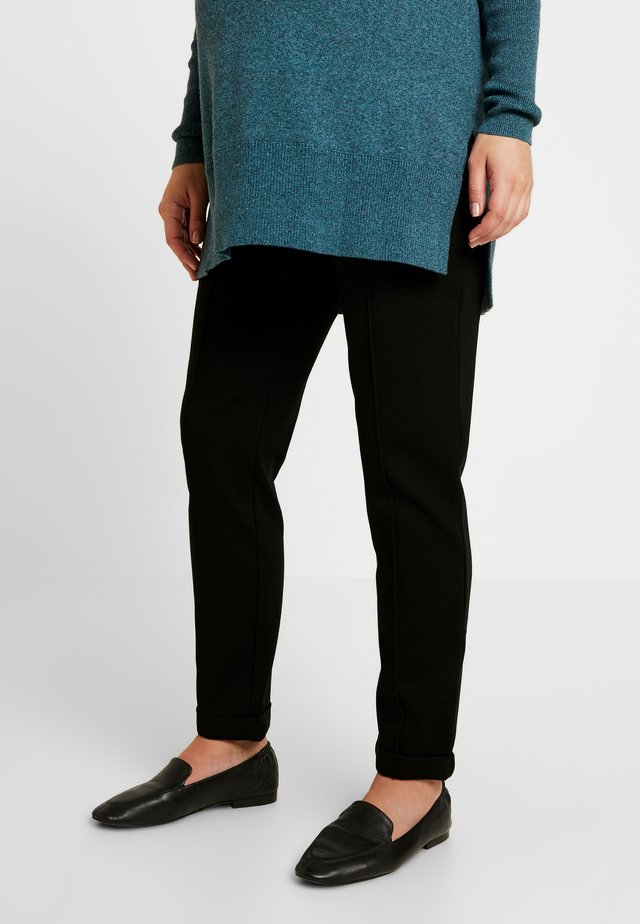 LORRAINE - Pantaloni - black