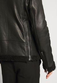 Be Edgy - KILIAN - Leather jacket - black - 4