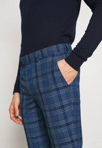 Topman - JAMES - Oblekové kalhoty - blue - 3