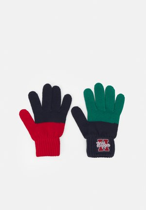 BOYS SEASONAL GLOVES - Guantes - blue