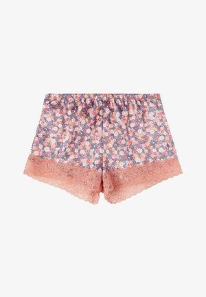 Pantaloni del pigiama - dark nude st.summer flower