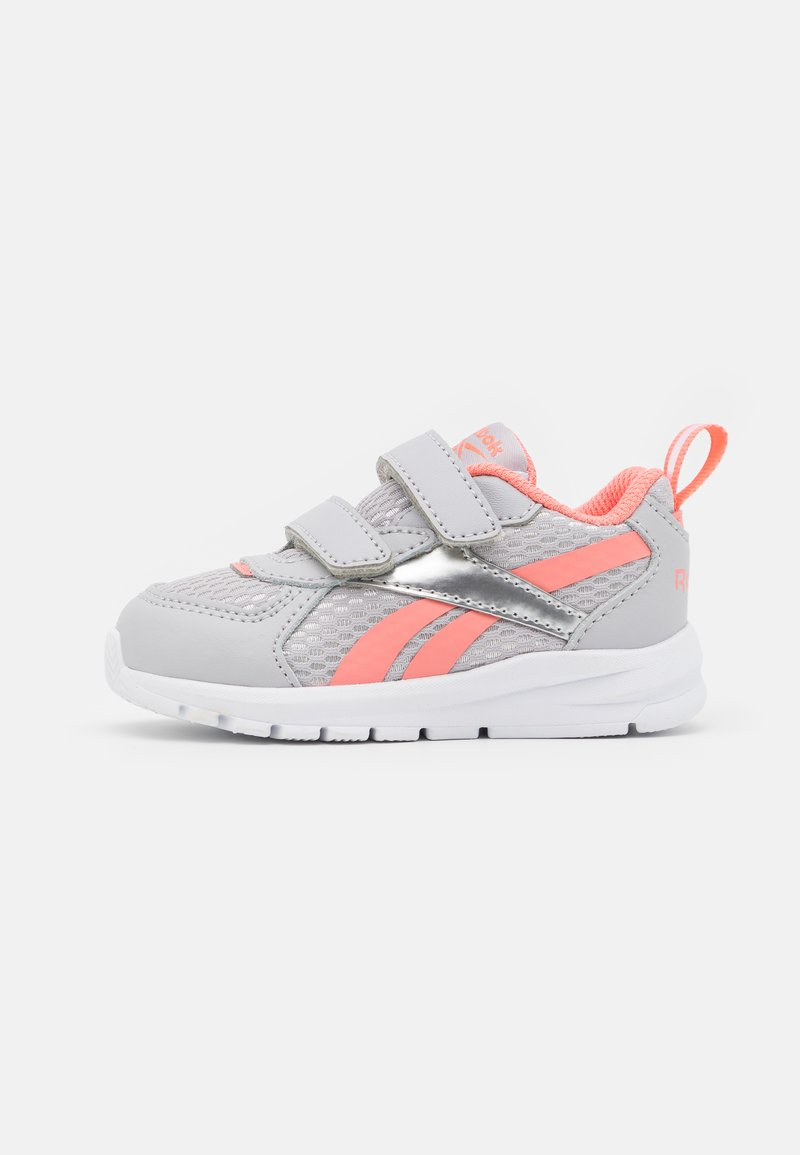 Reebok - XT SPRINTER UNISEX - Neutral running shoes - cold grey/twisted coral/silver metallic
