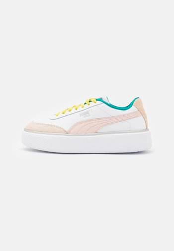 OSLO MAJA  - Baskets basses - white/cloud pink/eggnog