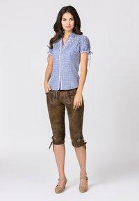 Stockerpoint - FLAVIA - Button-down blouse - blue - 1