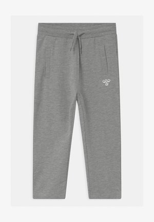 UNO UNISEX - Tracksuit bottoms - mottled grey