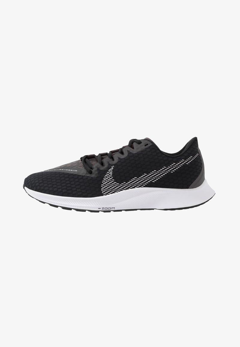 Nike Performance - ZOOM RIVAL FLY 2 - Nøytrale løpesko - black/white/thunder grey