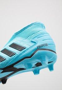 adidas Performance - PREDATOR 19.3 FG - Moulded stud football boots - bright cyan/core black/solar yellow - 2