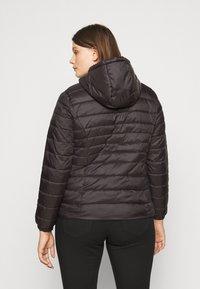 ONLY Carmakoma - CARTAHOE HOOD JACKET  - Light jacket - black - 2