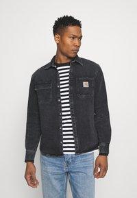 Carhartt WIP - SALINAC JAC MAITLAND - Camicia - black middle worn wash - 1