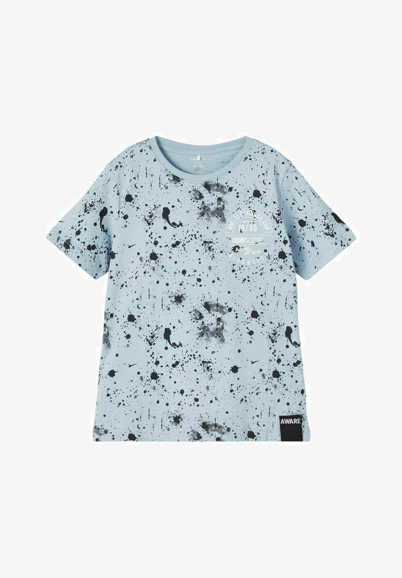 Name it - Print T-shirt - dusty blue
