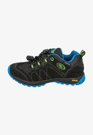 Hiking shoes - black/blue
