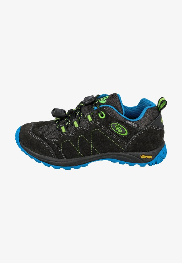 Hiking shoes - black/blue