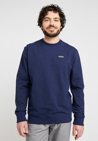 Patagonia - LABEL UPRISAL CREW  - Sweater - classic navy - 0