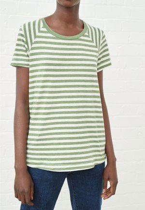 RAGLAN - Print T-shirt - mottled green