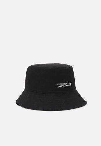 MONOGRAM BUCKET UNISEX - Cappello - black/bright white