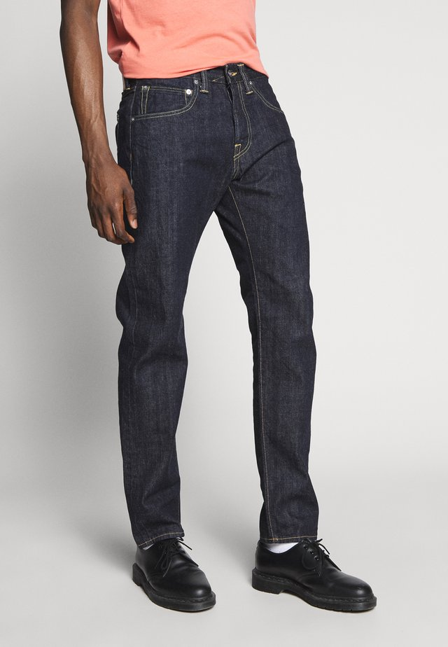REGULAR TAPERED - Straight leg -farkut - dark blue denim