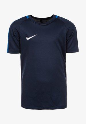 DRY ACADEMY 18 - Print T-shirt - dark blue