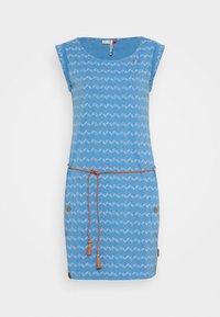 Ragwear - ZIG ZAG - Jersey dress - blue - 3