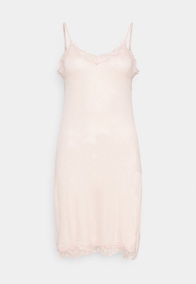 SPAGHETTI CHEMISE - Camicia da notte - pale blush