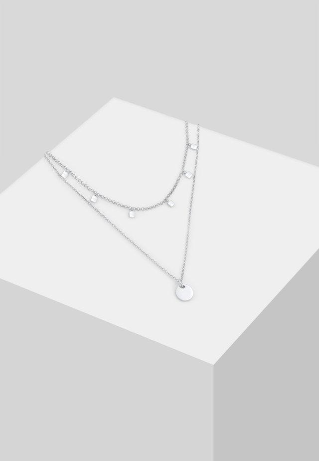 CHOKER - Kaulakoru - silver-coloured
