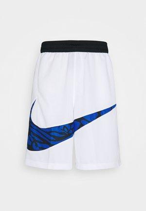 DRY SHORT PRINT - Pantalón corto de deporte - white/game royal