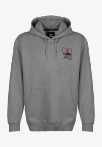 Edwin - SUNSET ON  - Luvtröja - mid grey marl garment washed - 0