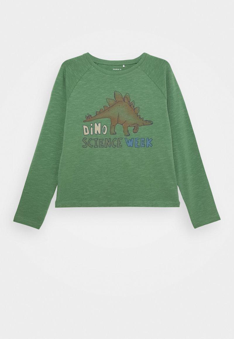 Name it - NMMTHELO - Maglietta a manica lunga - dark ivy