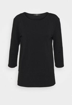 MULTIA - T-shirt à manches longues - black