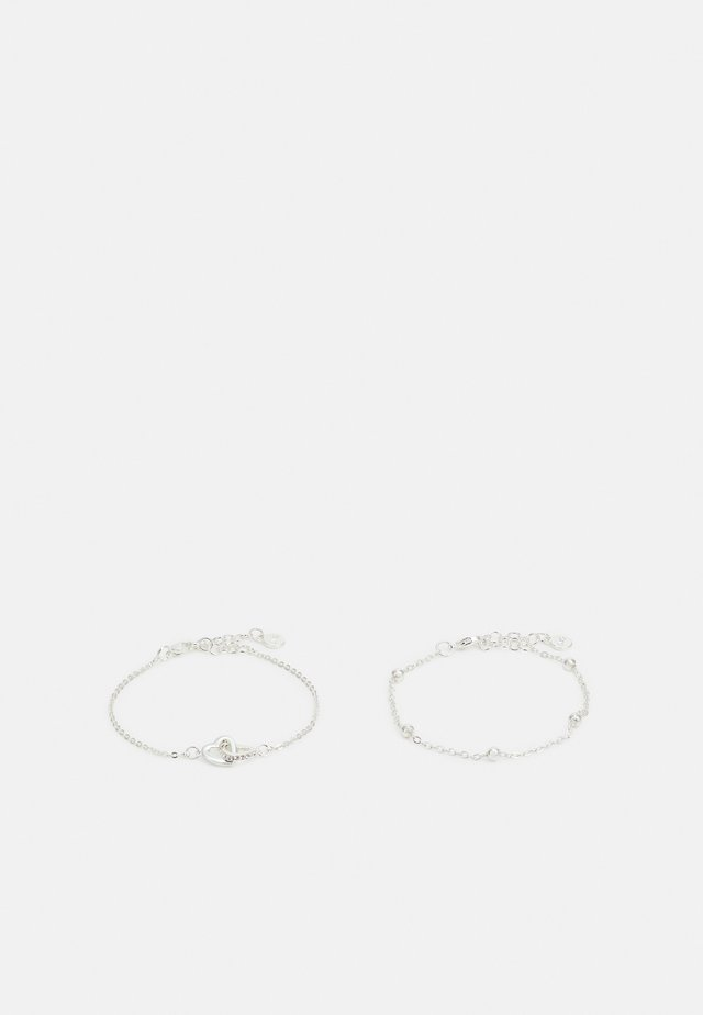 VALENTINE TREASURE BRACE 2 PACK - Armband - silver-coloured